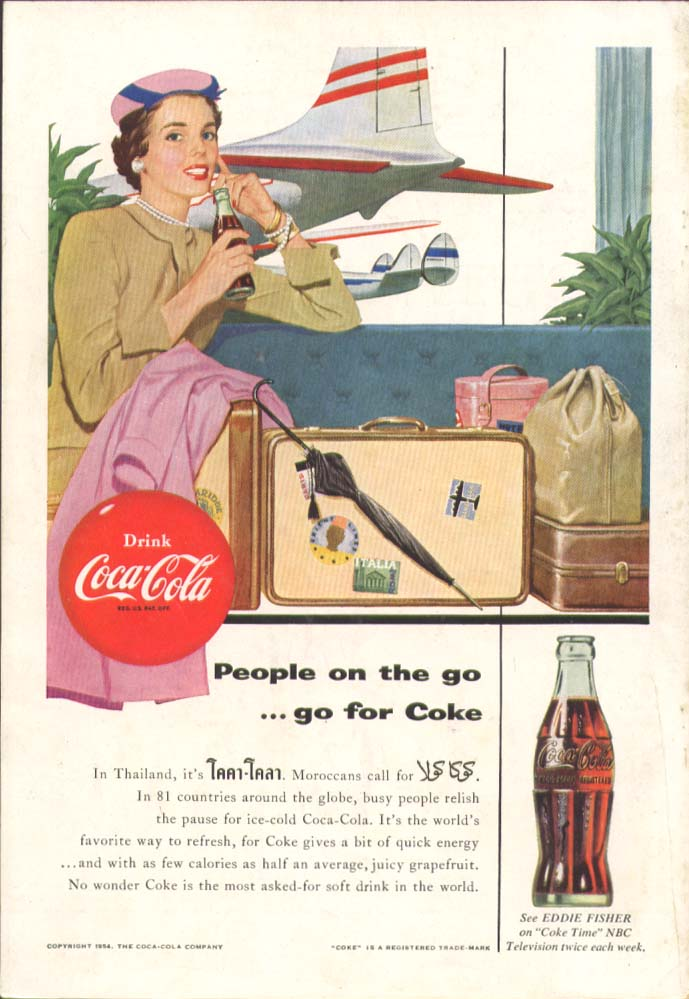 Image for People on the go - go for Coca-Cola ad airport