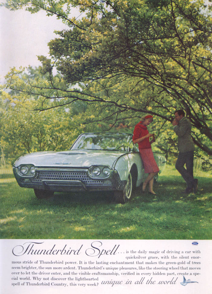 Image for Thunderbird Spell Thunderbird ad 1962