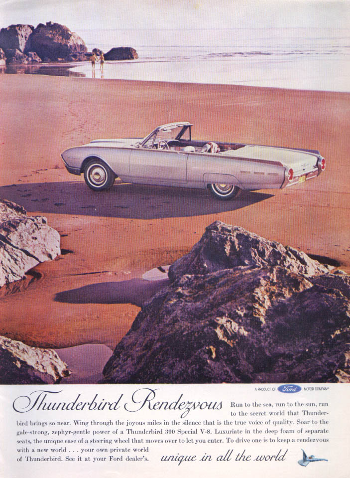 Image for Thunderbird Rendezvous Thunderbird ad 1962