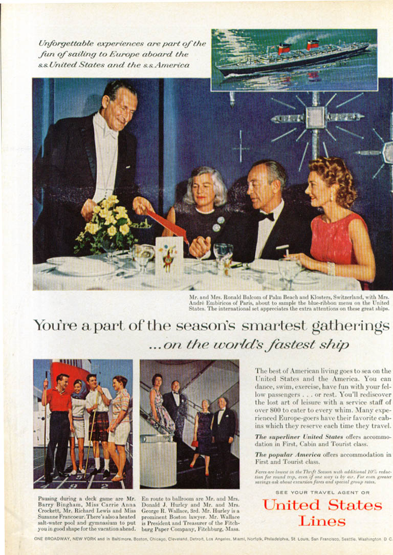 Image for Season's smartest gatherings S S United States ad 1963