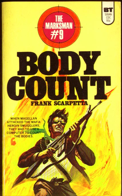 Image for The marksman #9: body count
