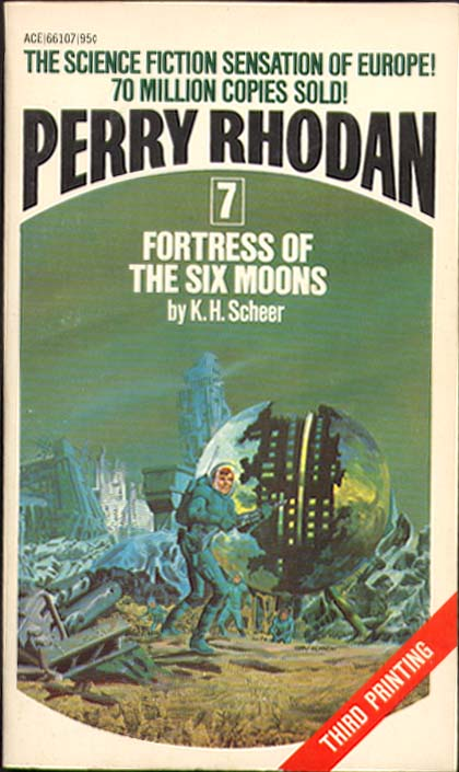 Image for Perry Rhodan #7: fortress of the six moons
