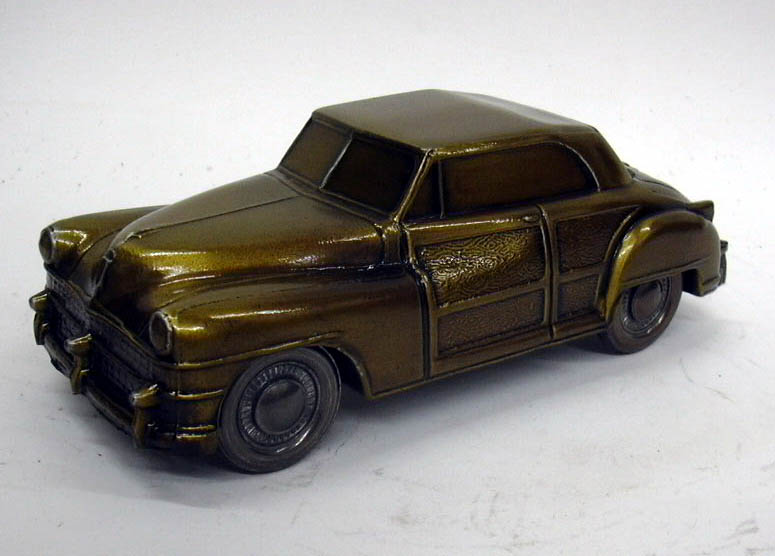 Image for 1946 Chrysler Town & Country Banthrico Coin Bank NIB 1970s