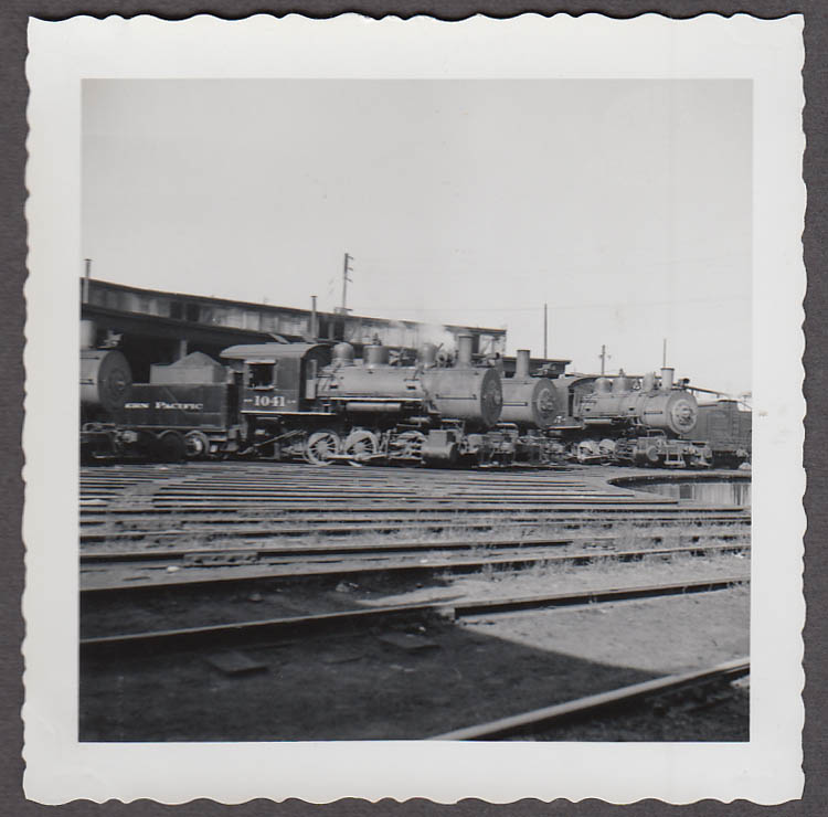 Image for Northern Pacific 0-6-0 #1041 & others locomotive roundtable photo
