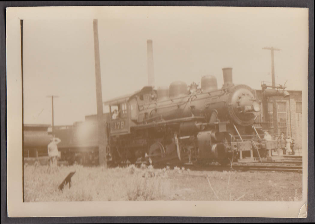 Image for Central Vermont Railway 0-6-0 #178 locomotive photo