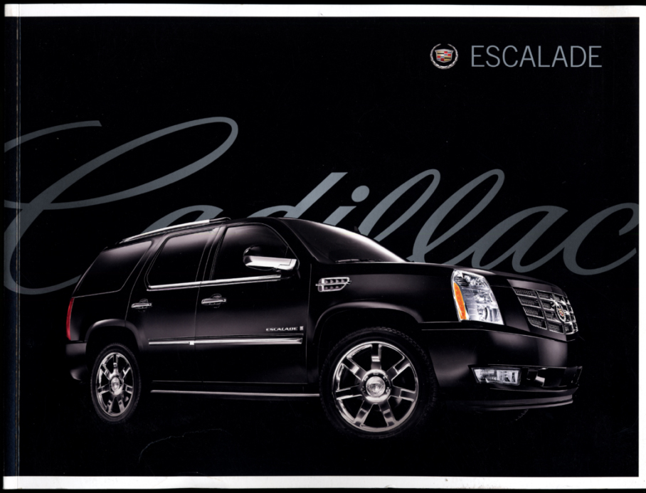 Image for 2008 Cadillac Escalade AWD 2WD ESV AWD ESV 2WD EXT AWD sales brochure