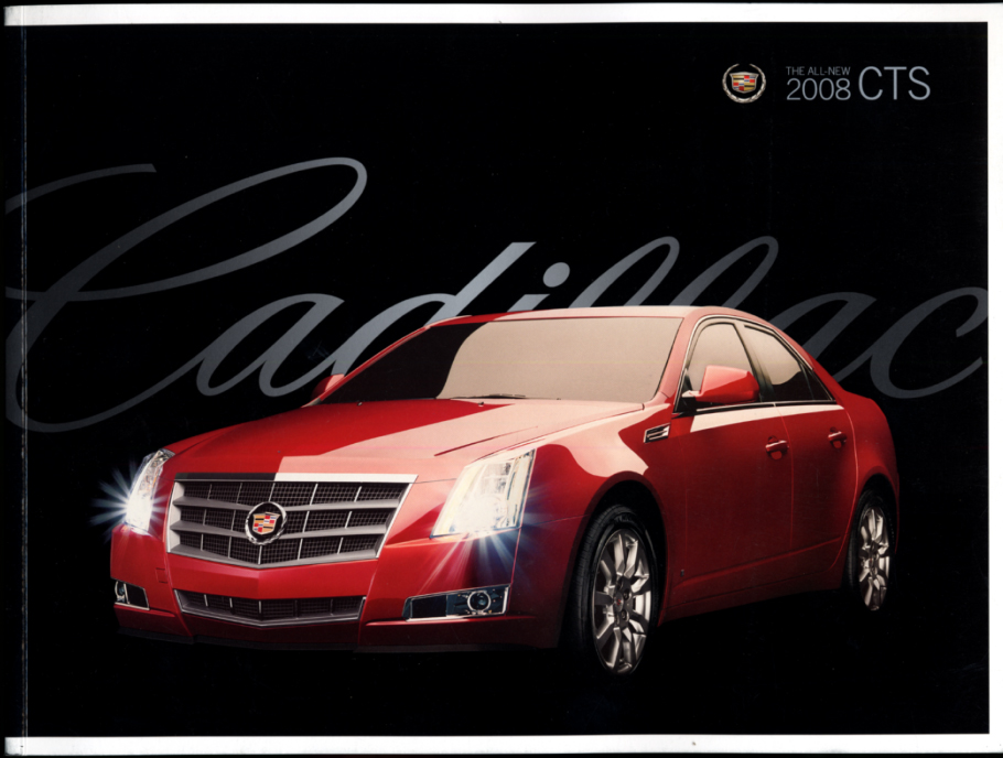 Image for 2008 Cadillac CTS 3.6L 3.6L Direct Injection sales brochure