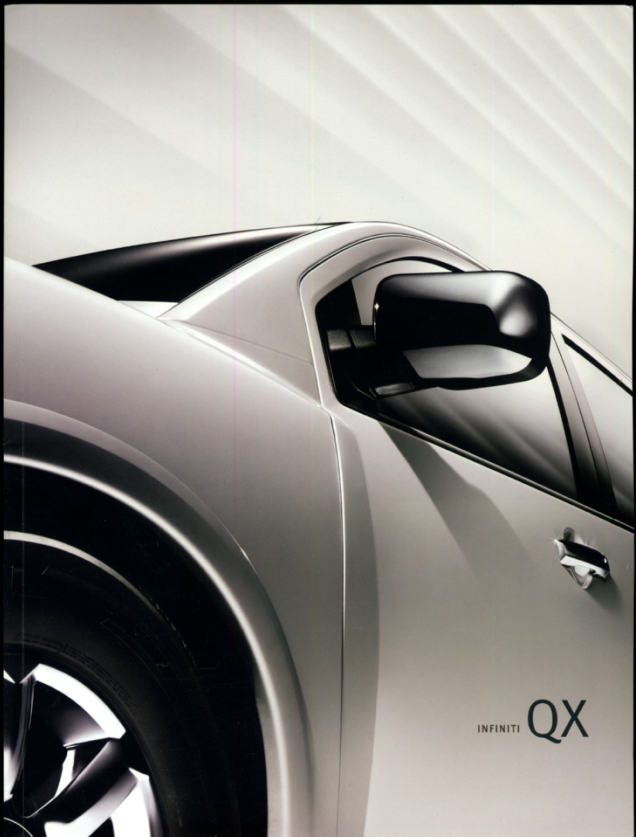 Image for 2006 Infiniti QX 56 2WD 4WD sales brochure