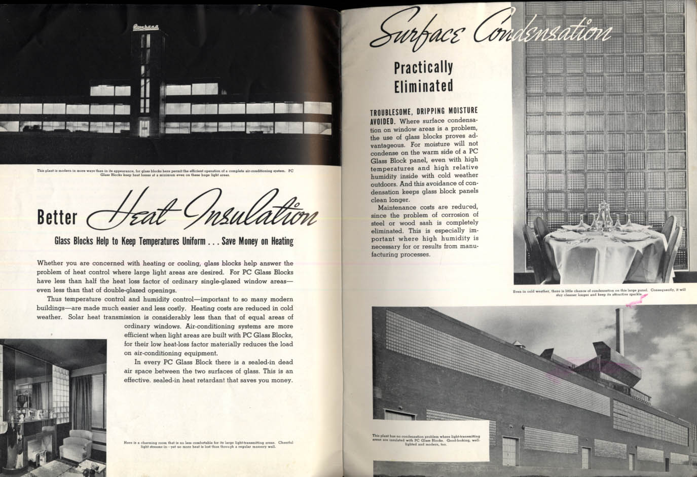 Image for Pittsburgh Corning The Glass Age Arrives glass blocks brochure 1939