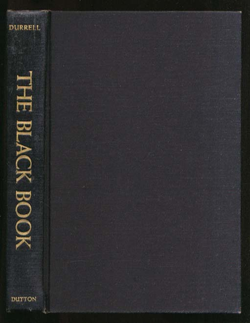 Image for Lawrence Durrell: The Black Book 1st US edition 1960