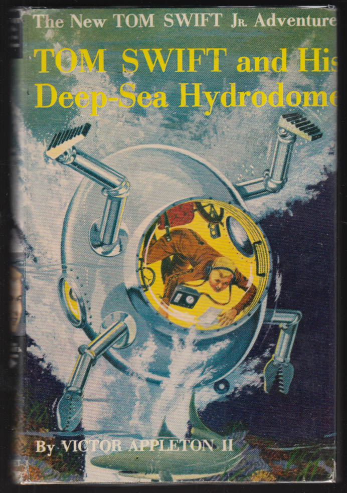 Image for Tom Swift & His Deep-Sea Hydroplane 1958 hardbound in dustjacket
