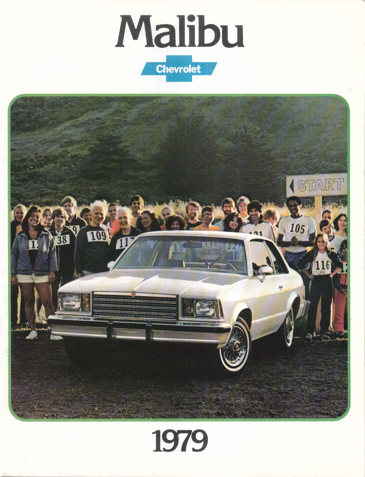 Image for 1979 Chevrolet Malibu sales brochure