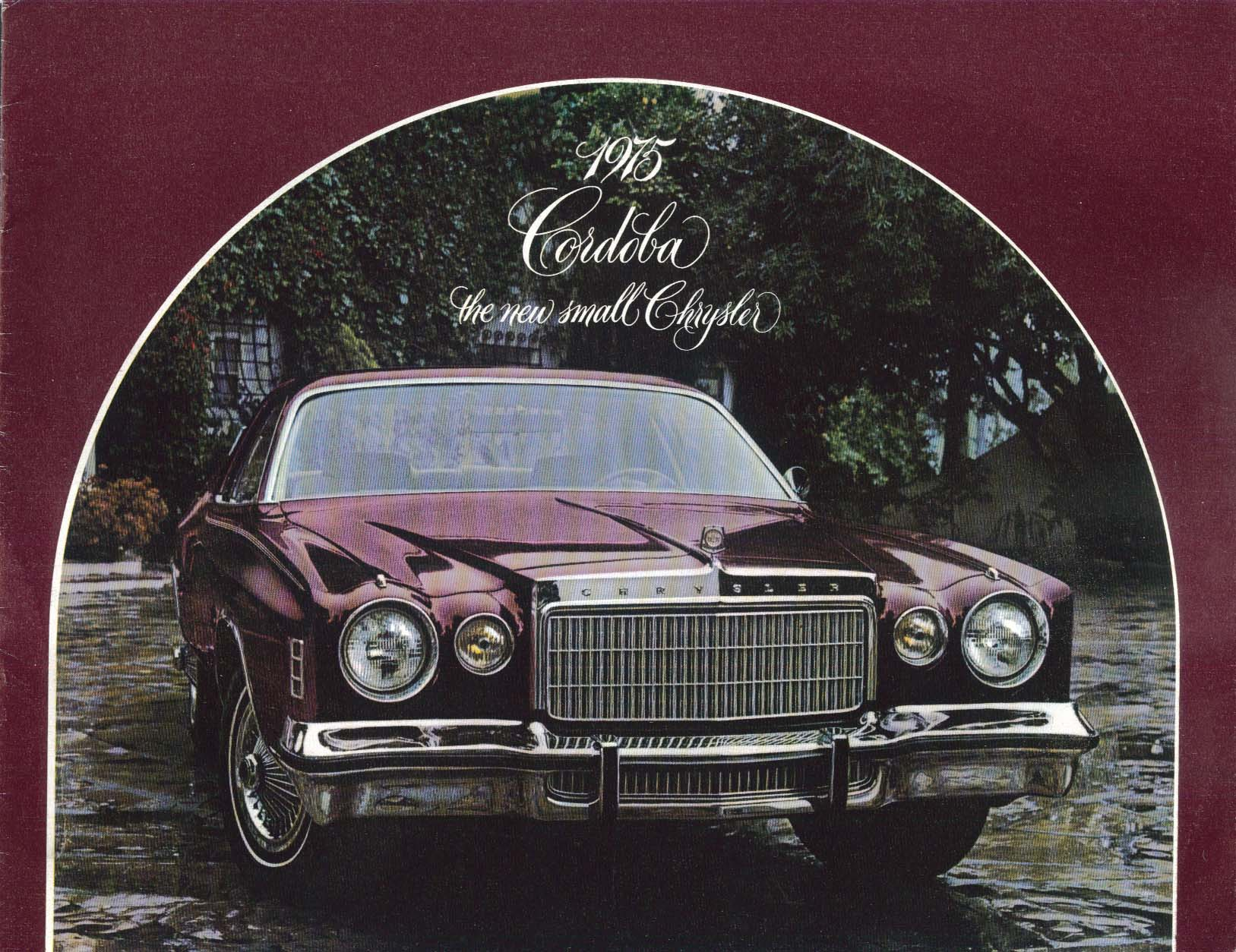 Image for 1975 Chrysler Cordoba sales brochure