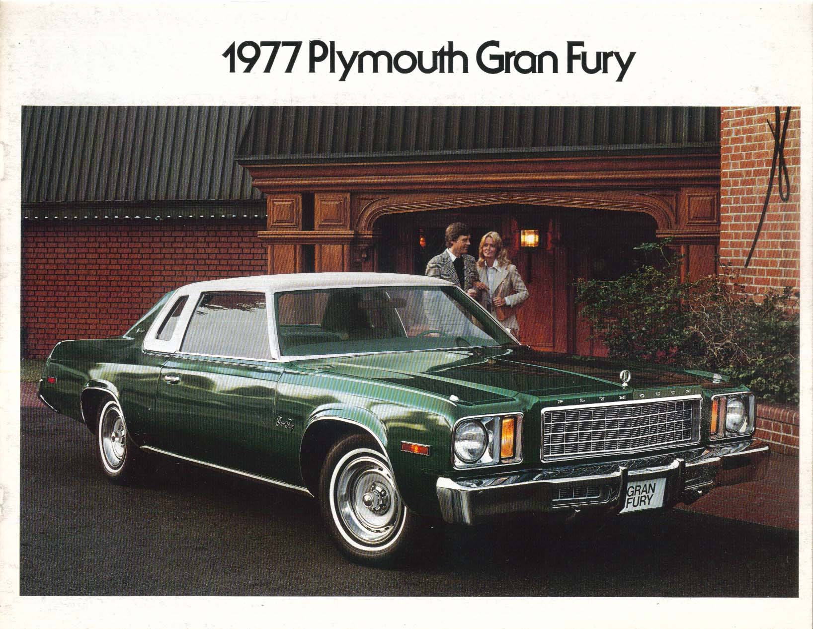 Image for 1977 Plymouth Gran Fury + Brougham sales brochure