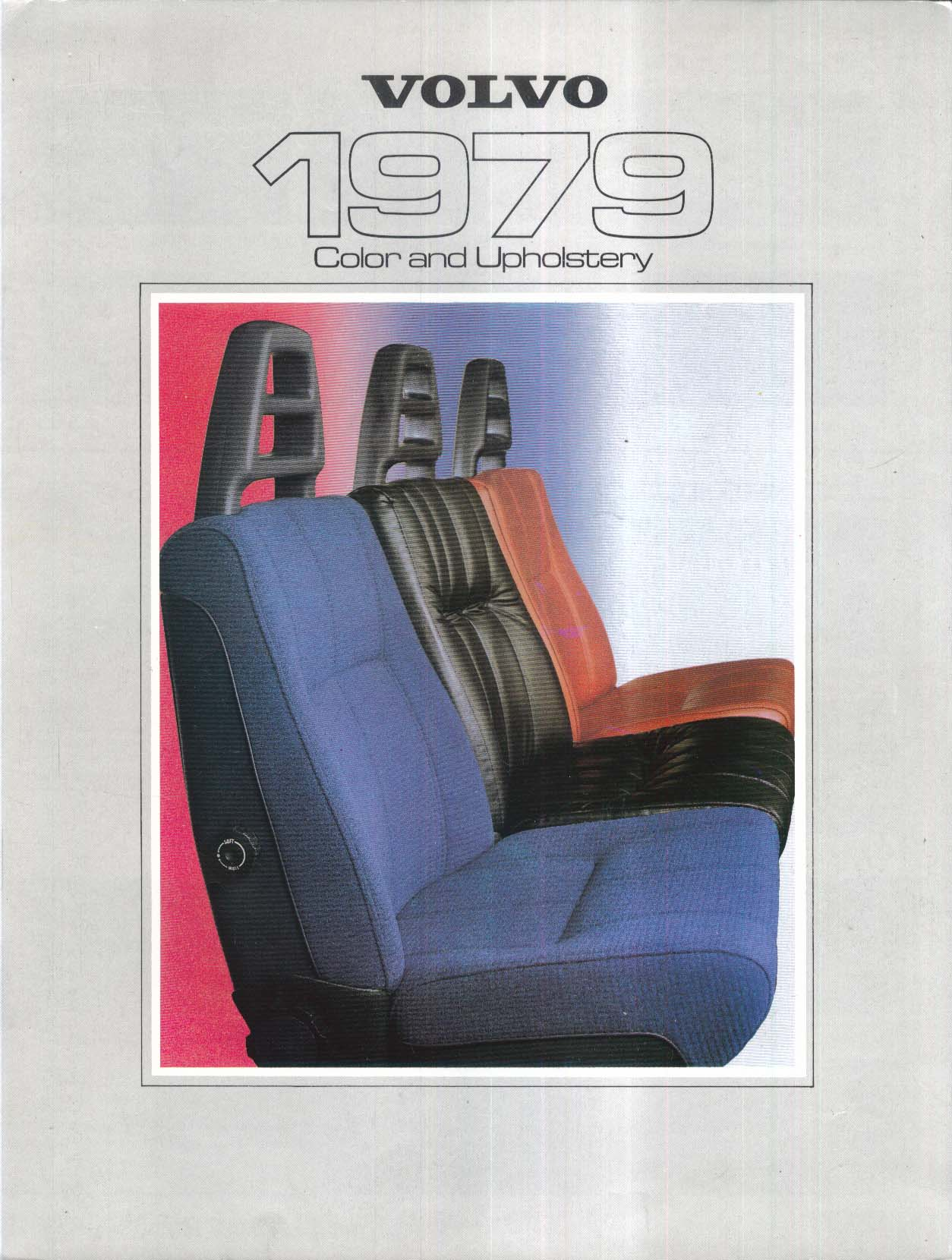 Image for 1979 Volvo Color & Upholstery folder