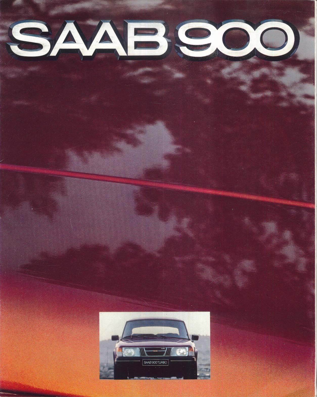 Image for 1980 Saab 900 GLi EMS GLE 900 Turbo brochure