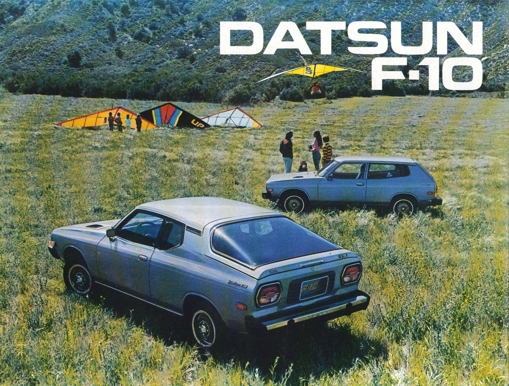 Image for 1976 Datsun F-10 sales brochure