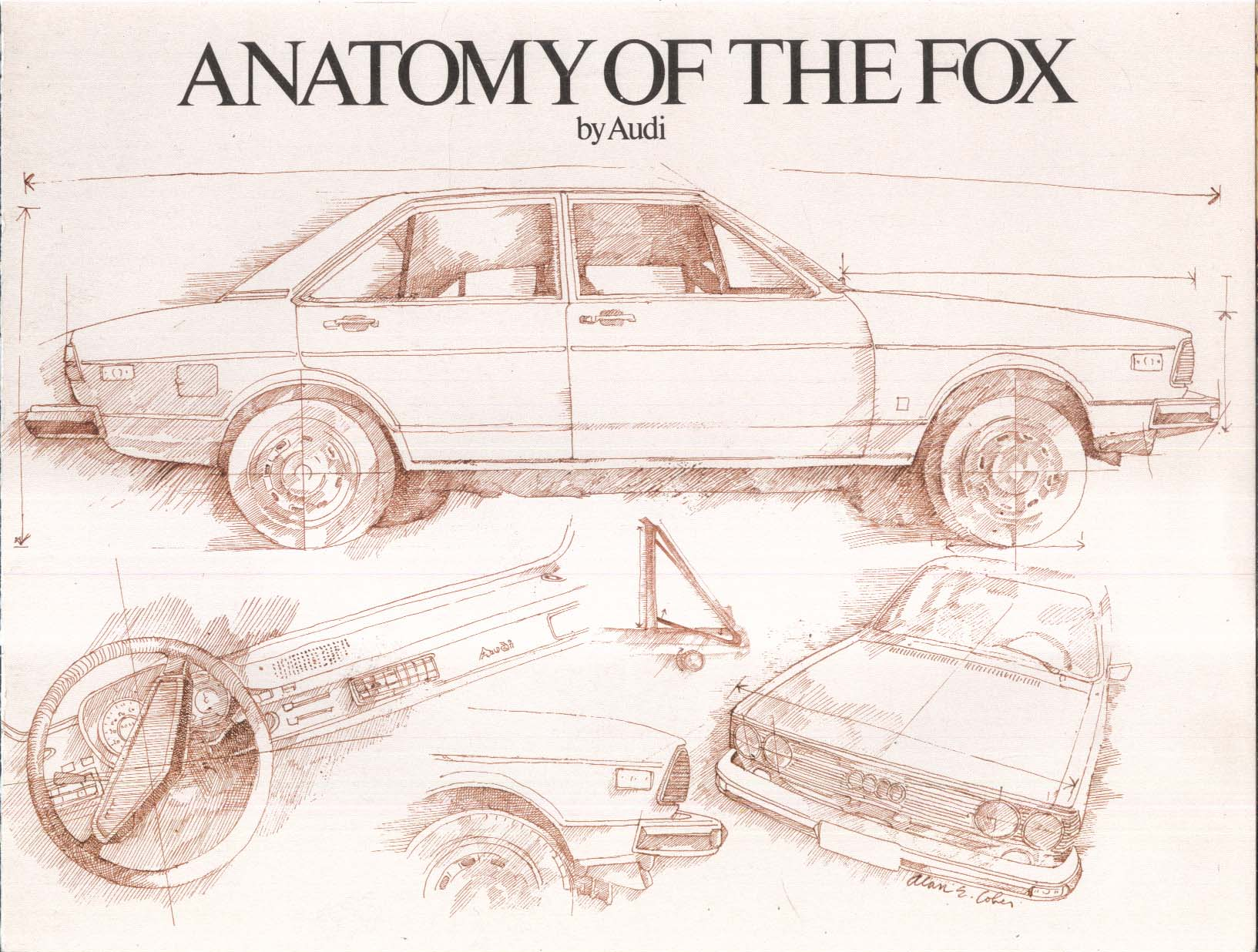 Image for 1977 Audi Fox sales brochure