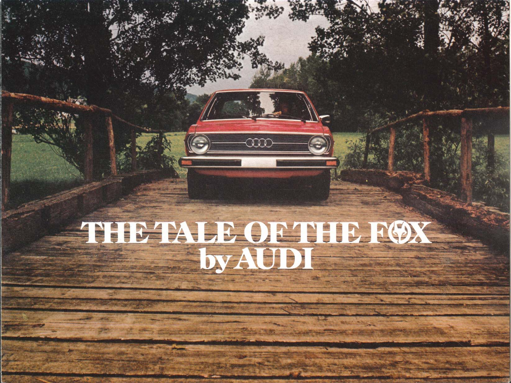Image for 1976 Audi Fox sales brochure