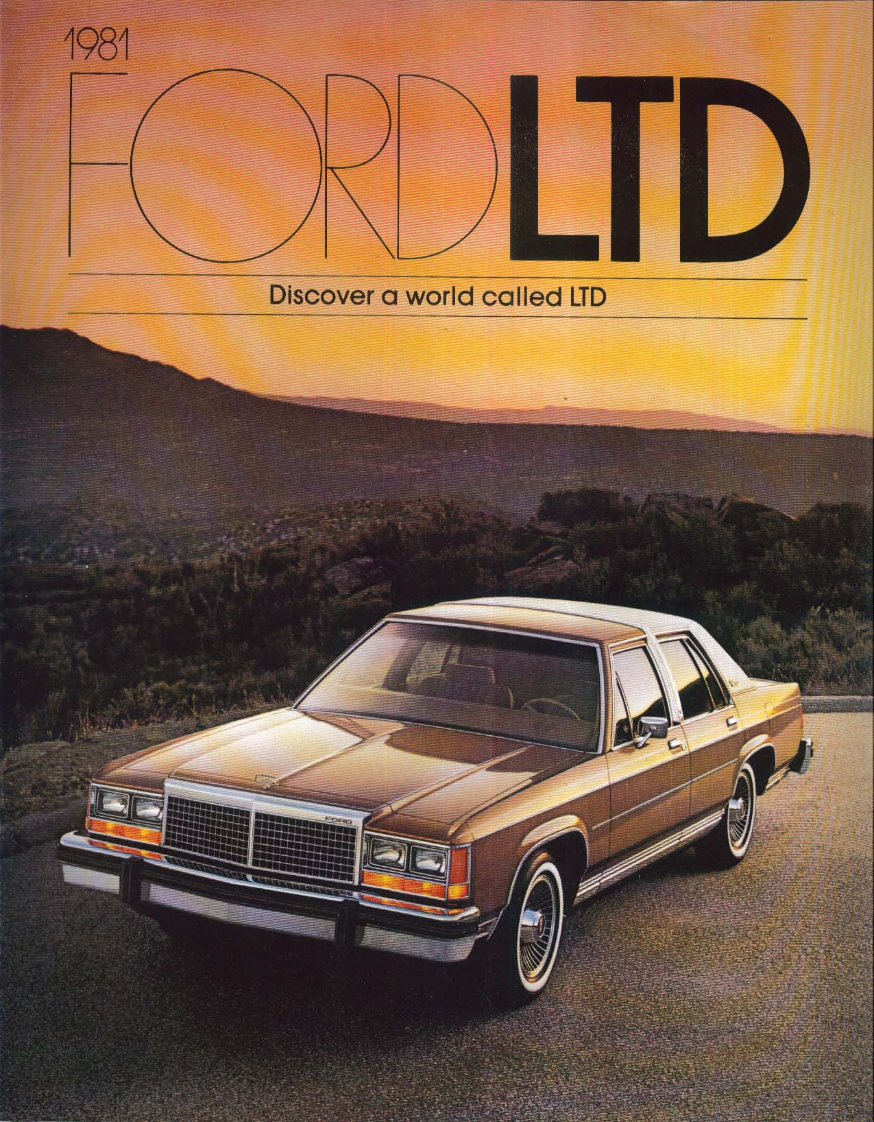 Image for 1981 Ford LTD catalog: Crown Victoria +