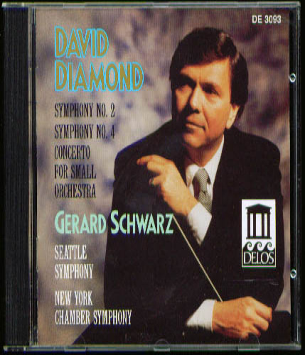 Image for David Diamond Symphony #2 & #4 + CD
