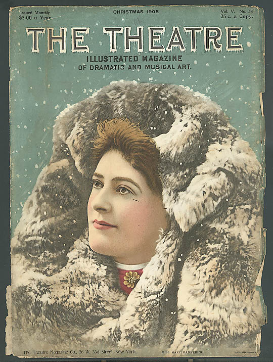 Image for Mary Mannering: The Theatre cover 12/1905