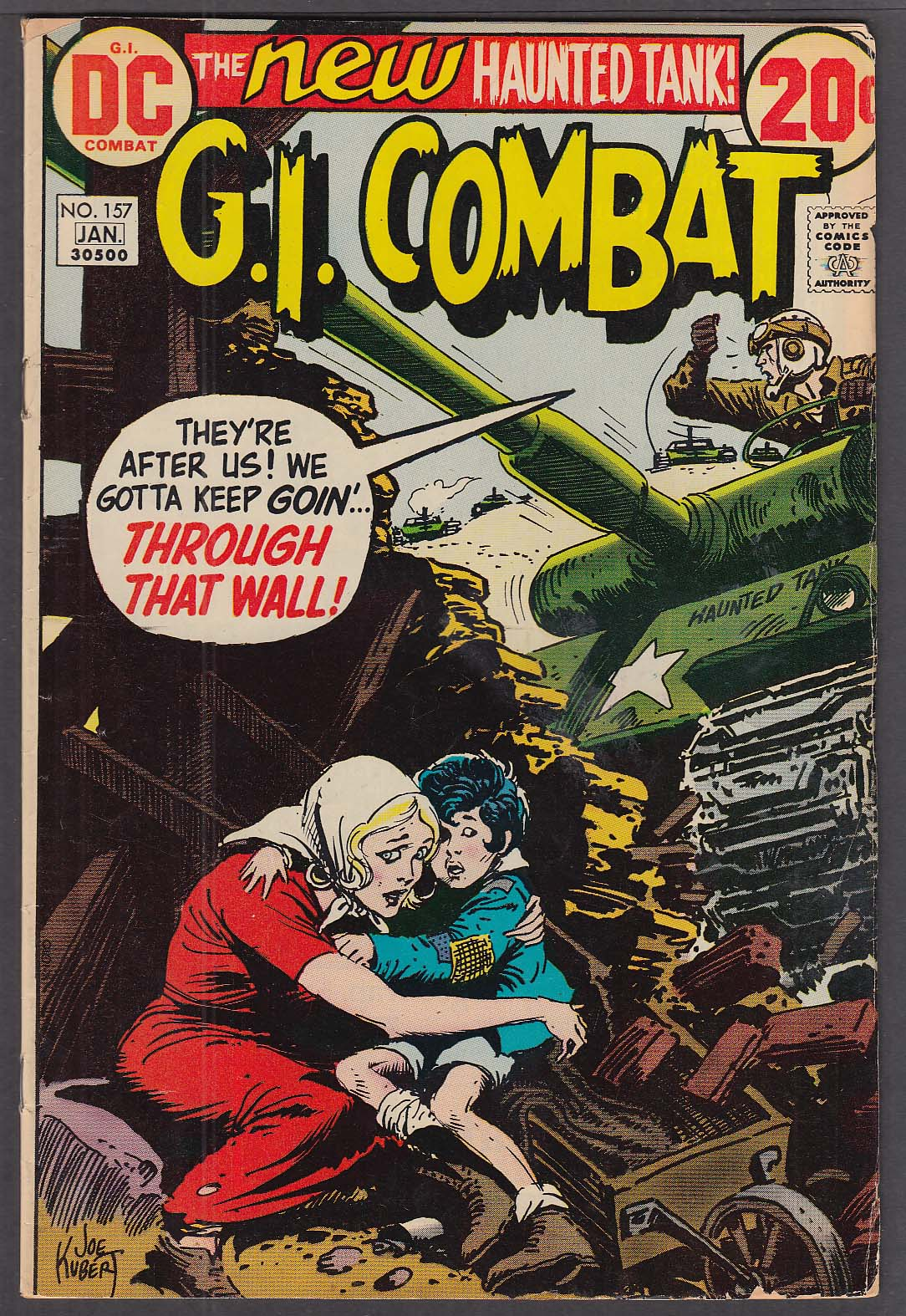 Image for G. I. COMBAT #157 DC comic book 12/1972 - 1/1973