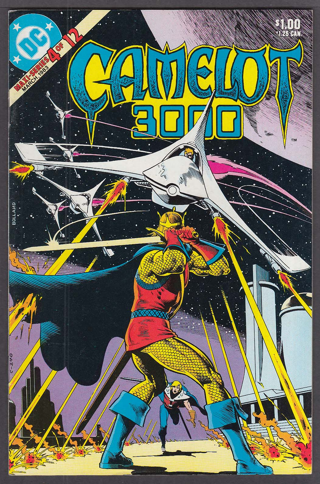 Image for CAMELOT 3000 #4 DC comic book 3/1983