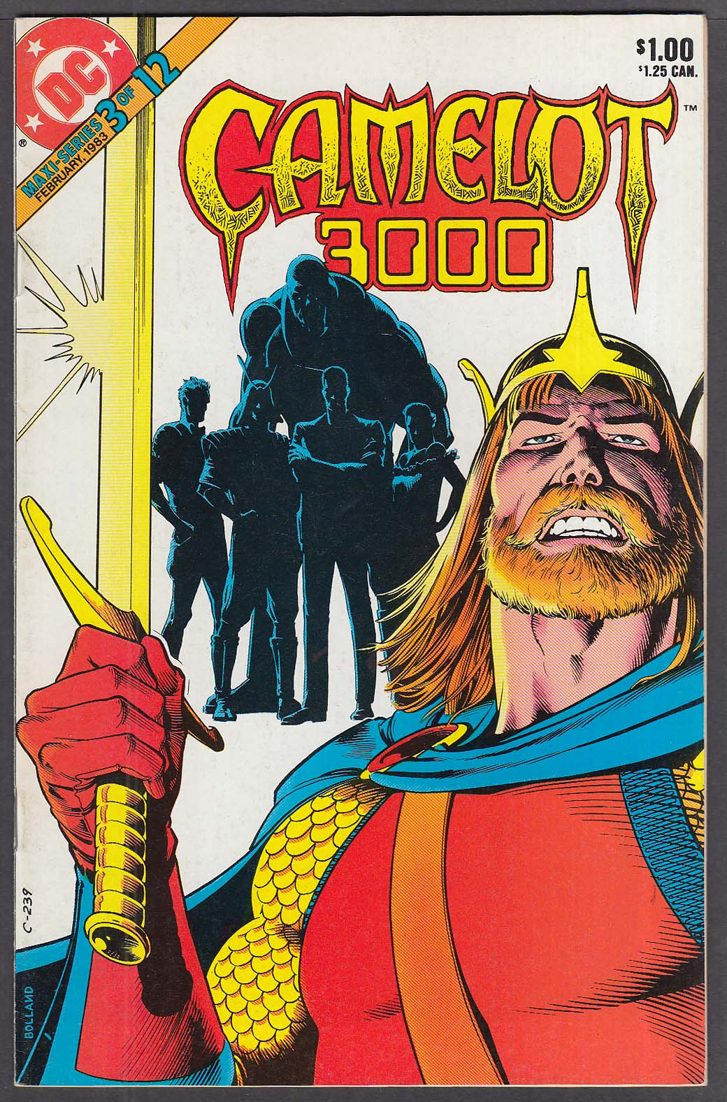 Image for CAMELOT 3000 #3 DC comic book 2/1983