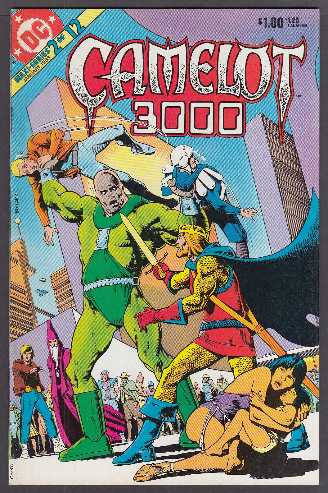 Image for CAMELOT 3000 #2 DC comic book 1/1983