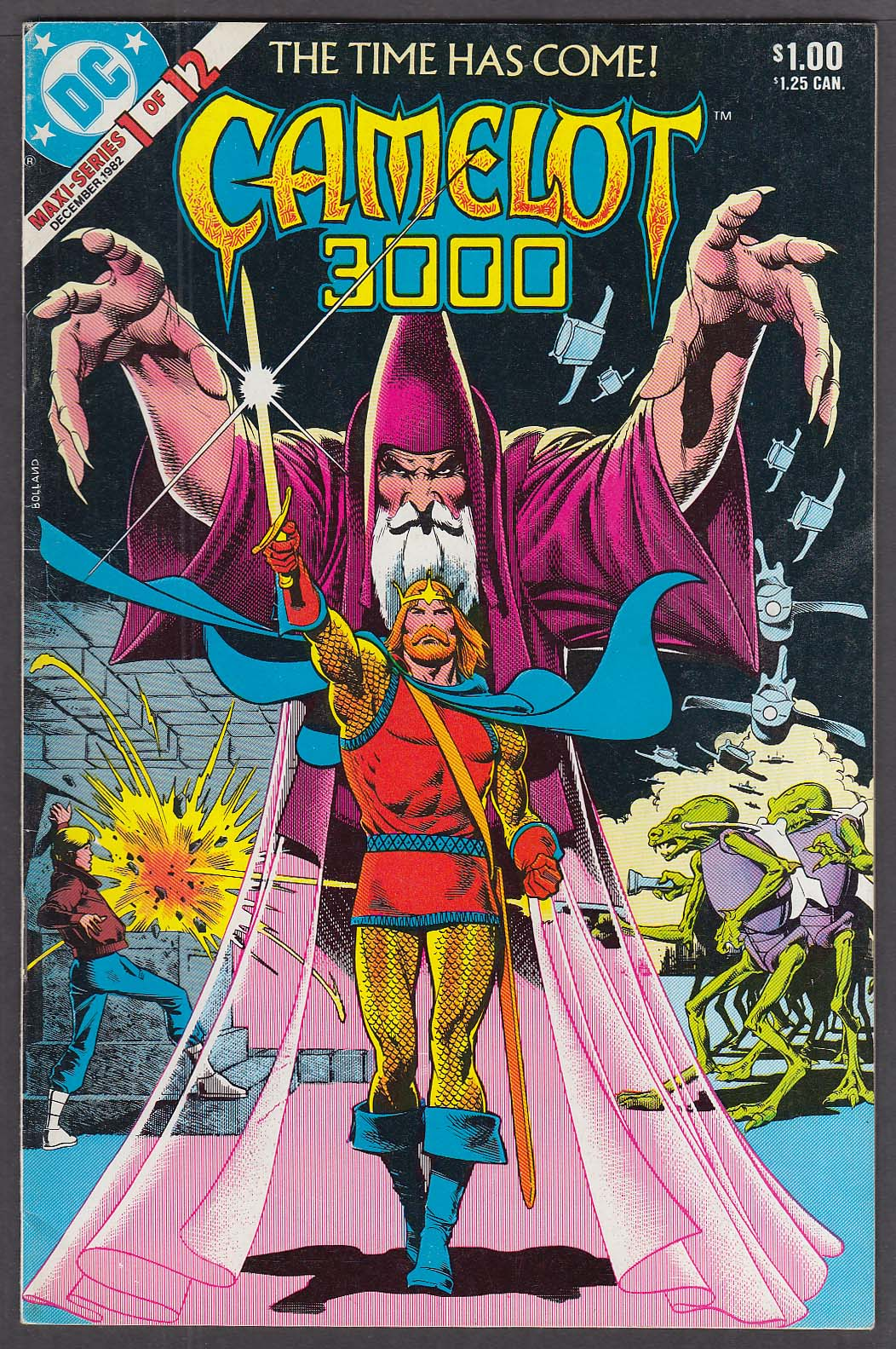 Image for CAMELOT 3000 #1 DC comic book 12/1982