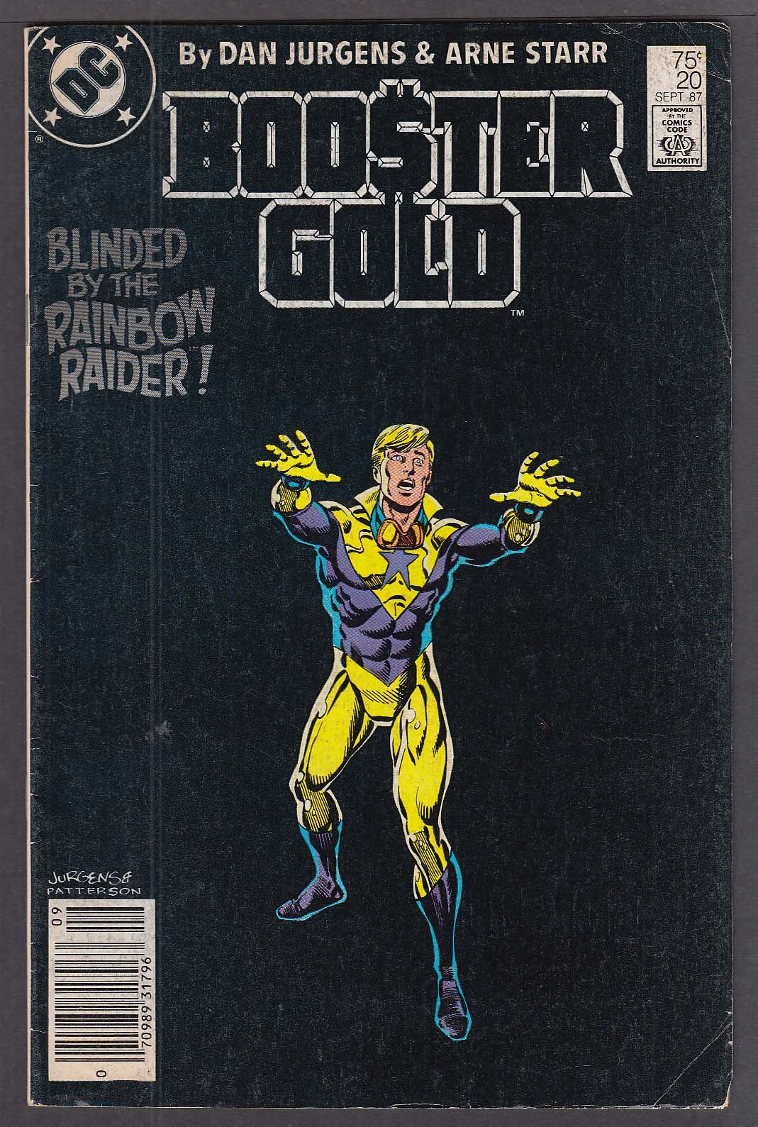 Image for Booster Gold #20 DC comic book 9/1987