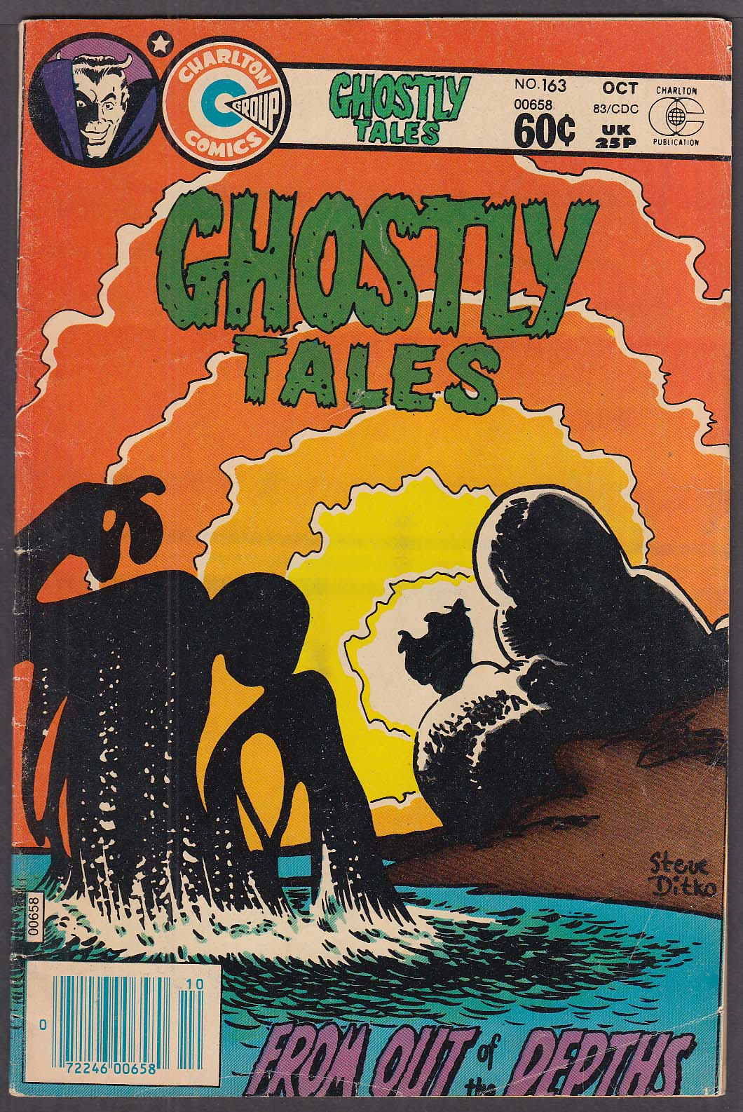 Image for GHOSTLY TALES #163 Charlton comic book 10/1983
