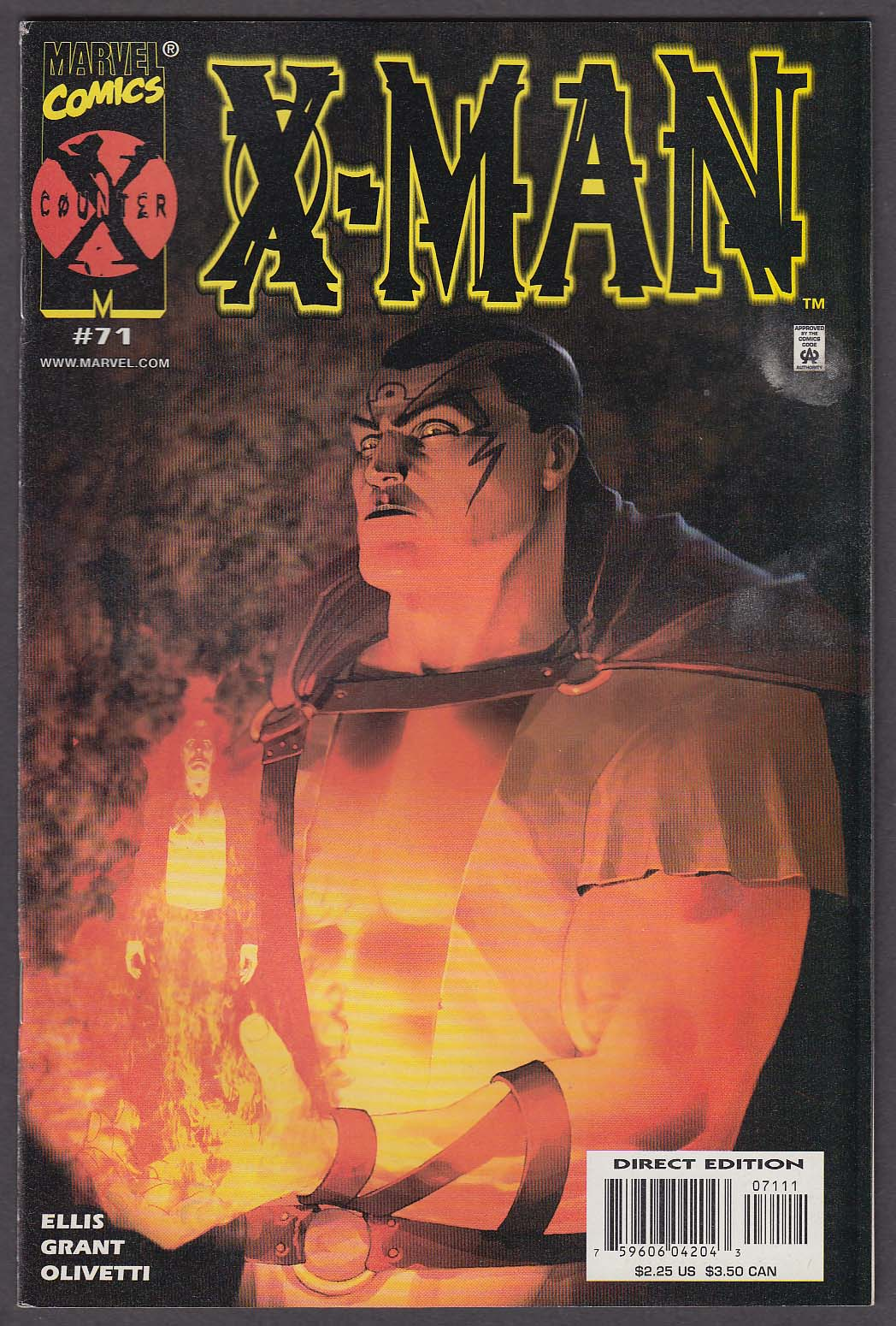 Image for X-MAN #71 Marvel comic book 1 2001