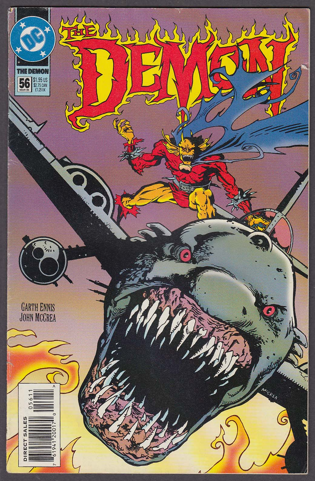 Image for The DEMON #56 DC comic book 3 1995