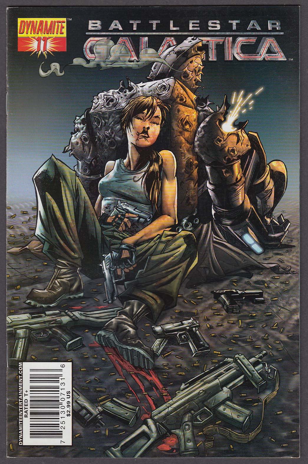 Image for BATTLESTAR GALACTICA #11 Dynamite comic book 2007 1st Printing
