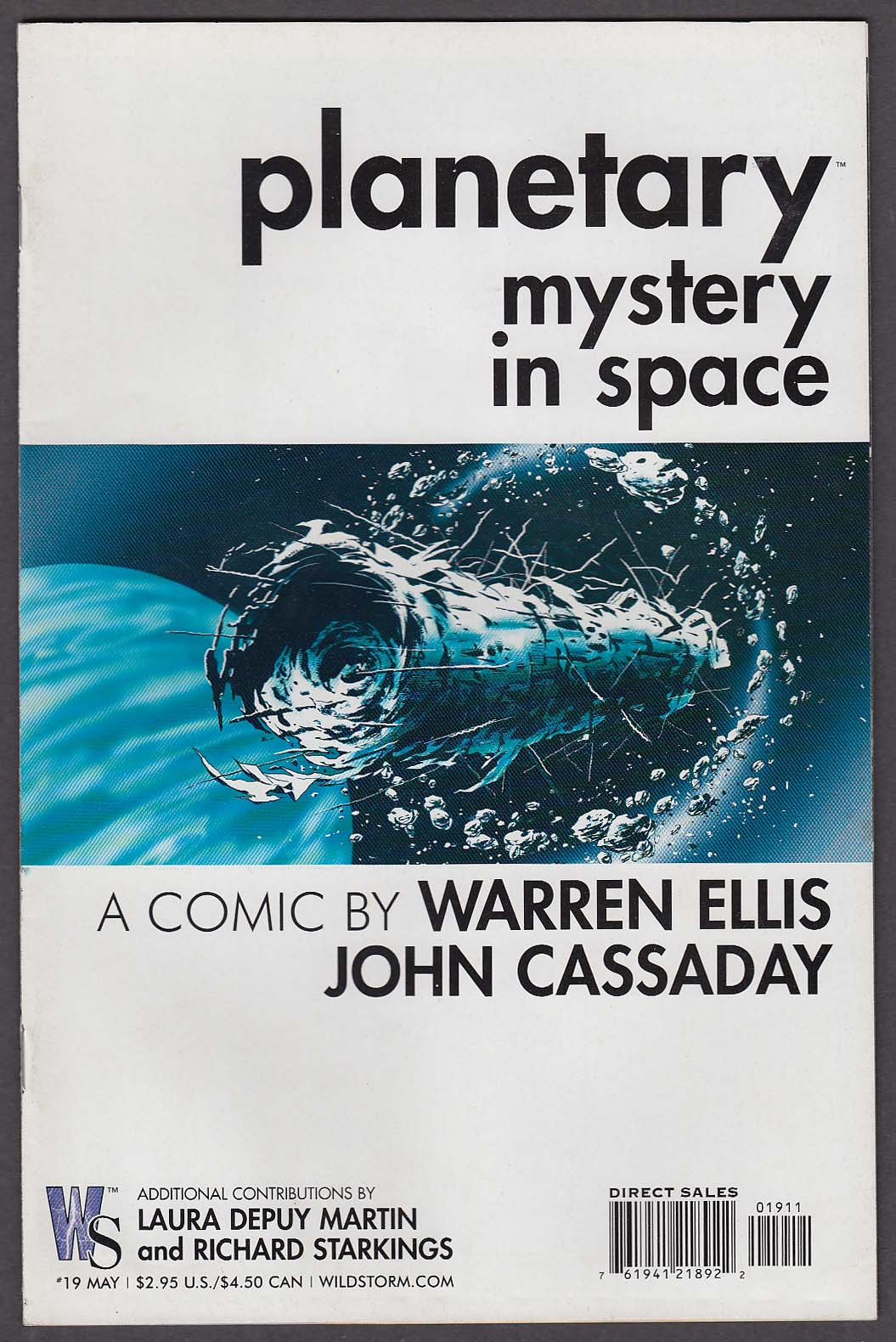 Image for PLANETARY #19 Mystery in Space WildStorm comic book 5 2004