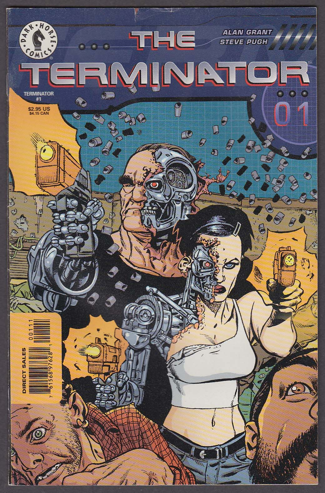 Image for The TERMINATOR #1 Dark Horse comic book 1998