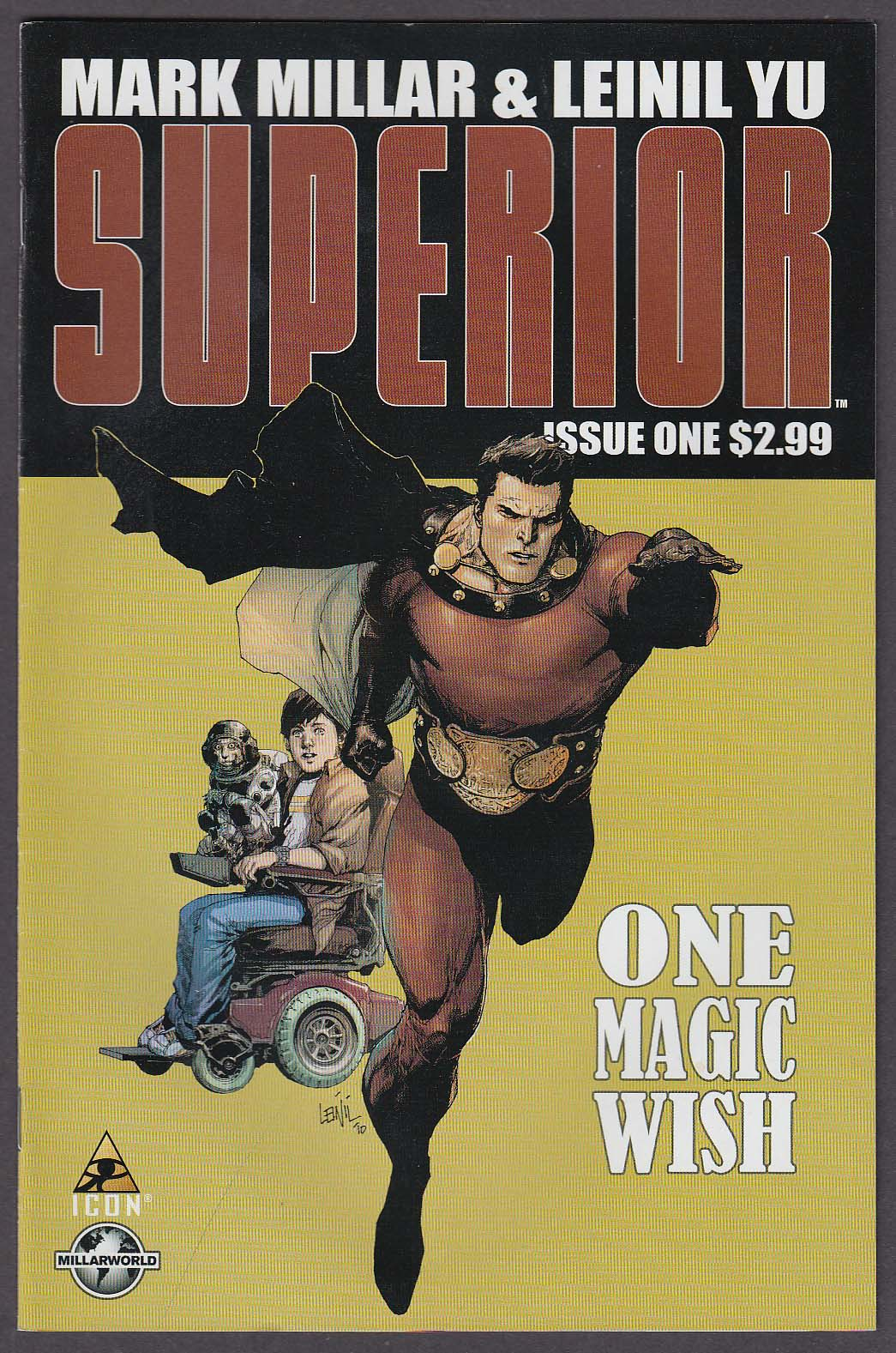 Image for SUPERIOR #1 Marvel comic book 12 2010