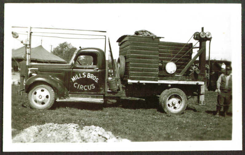 Image for Rigging Truck #55 Mills Bros Circus Frankfort IN 1948