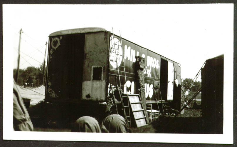 Image for Prop Truck? Mills Bros Circus photo Frankfort IN 1948
