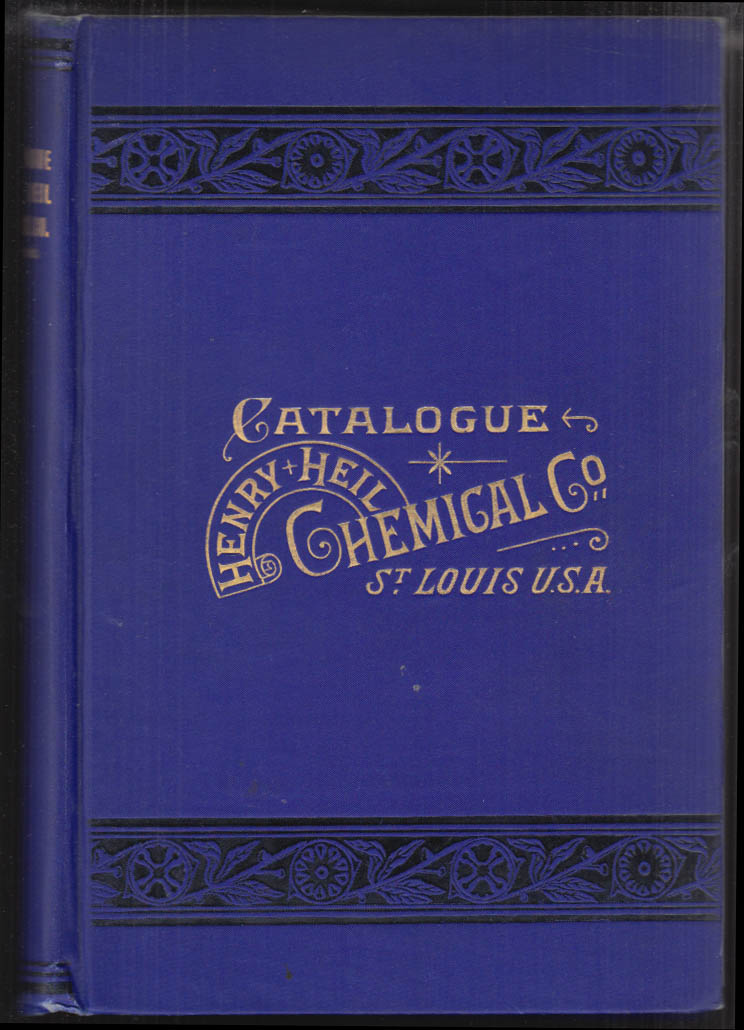 Image for Henry Heil Chemical Co St Louis Apparatus Catalogue 1903