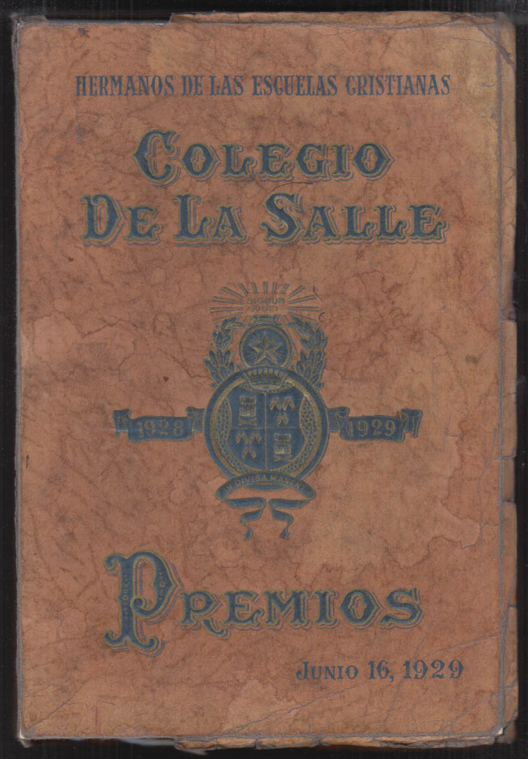 Image for Colegio De La Salle School Yearbook Class of 1929 Havana Cuba