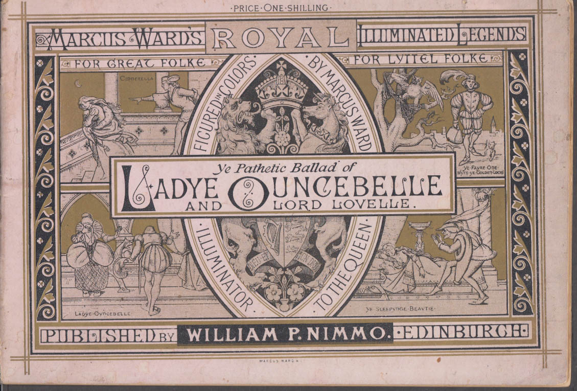 Image for Pathetic Ballad of Ladye Ouncebelle & Lord Lovelle Illuminated Legend 1883