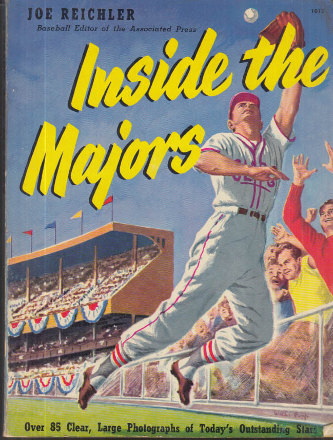 Image for Inside the Majors 1952 Annual: Ted Williams Musial Feller Robinson Berra Rizzuto