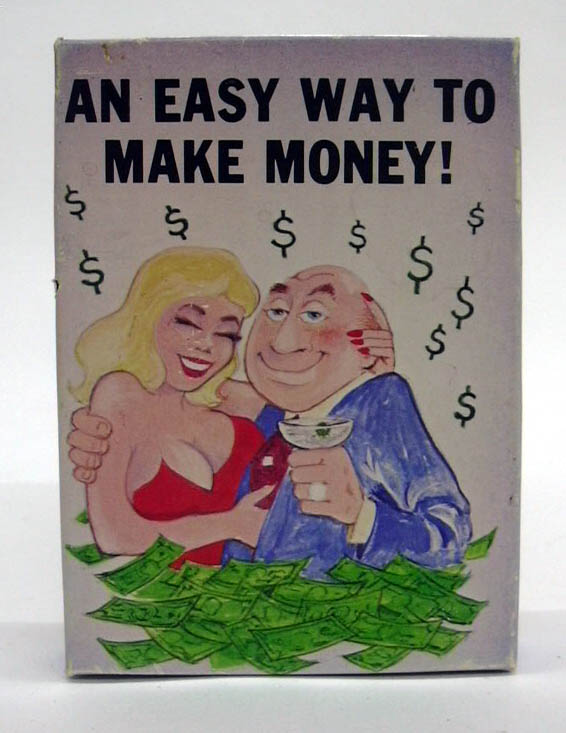 Image for Easy Way to Make Money novelty joke in a box 1983 Cal-Themes Cerritos CA