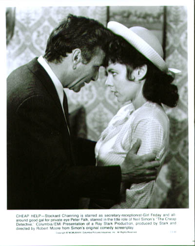 Image for Peter Falk Stockard Channing Cheap Detective