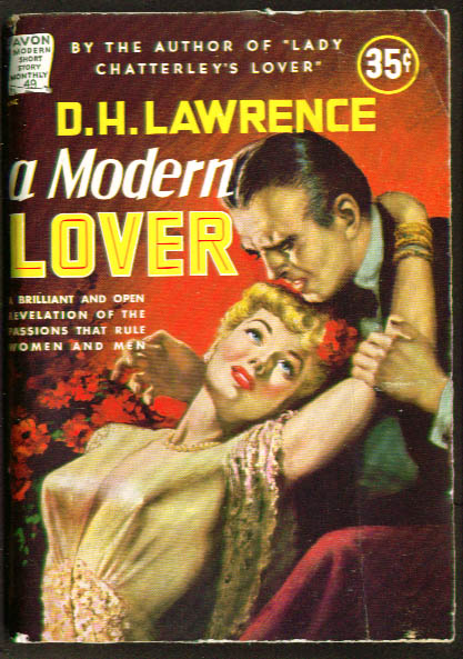 Image for D H Lawrence: Modern Lover Avon Short Story Monthly #49 GGA cover art