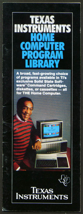Image for Texas Instruments Computer Program Catalog 1982 Cosby