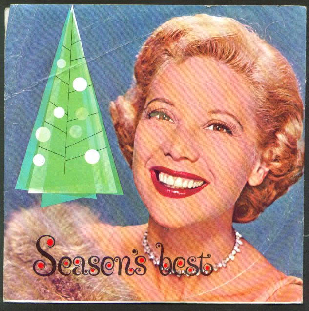 Image for Dinah Shore Chevrolet Season's Best 33rpm record 1960